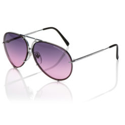 PORSCHE DESIGN - P8478 - SILVER with Pink Grad. & Silver Replacement