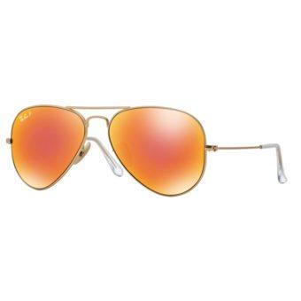 MATTE GOLD with Orange Mirror Polar.