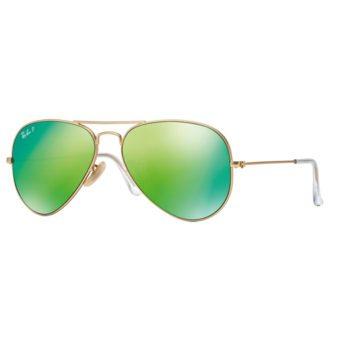 MATTE GOLD with Green Mirror Polar.