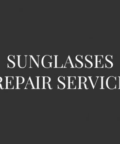 Sunglasses Repair Service