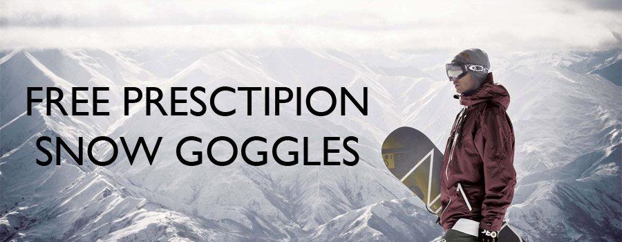 free prescription snow goggles