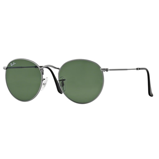 RAYBAN ROUND METAL RB3447 GUNMETAL CLASSIC EDITION