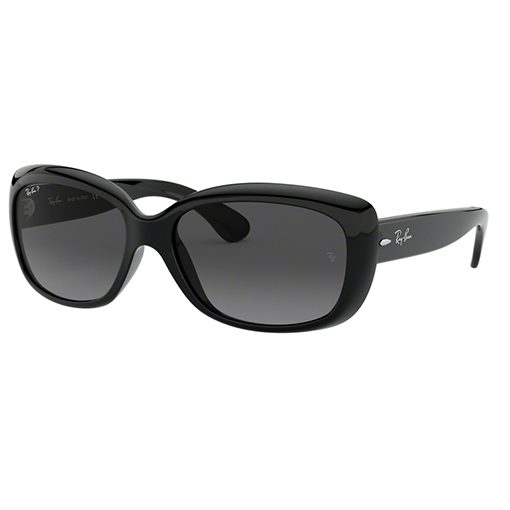 RAYBAN JACKIE OHH RB4101 BLACK POLARIZED CLASSIC EDITION