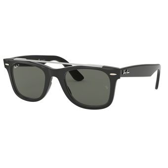 BLACK with Crystal Green Polarised